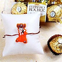 Cartoon Kids Rakhi With Rocher: Send Rakhi for Kids to USA