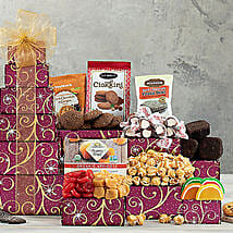 Chocolate and Sweets Tower: Birthday Gifts Atlanta