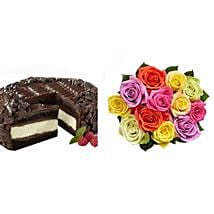 Chocolate Cheesecake and Colorful Roses: Cake Delivery in Cincinnati