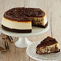 Chocolate Chip Cheesecake: New Year Gifts to USA