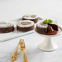 Chocolate Truffle Lava Cakes: Send Cakes to Cincinnati