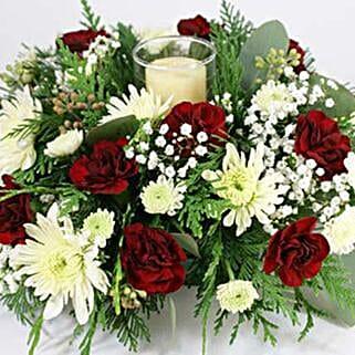 Christmas Centerpiece: Christmas Flowers to USA