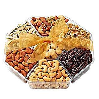 Christmas Nuts Gift Basket: Send Eid Gifts to USA