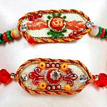 Combo Of 2 Divine Rakhis: Send Rakhi to USA