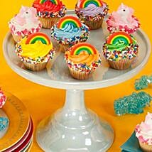 CRUMBS Mini Rainbows and Unicorns Cupcakes: Cup Cakes for USA