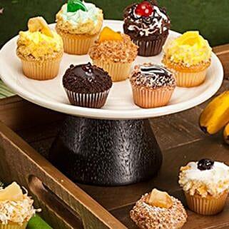 CRUMBS Mini Tutti Frutti Cupcakes: Send Friendship Day Gifts to USA