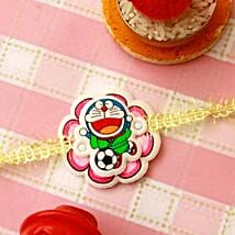 Cute Doraemon Rakhi: Rakhi for Kids to USA