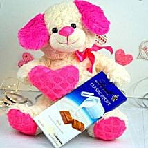 Cute Teddy N Lindt Chocolates: Return Gifts to USA