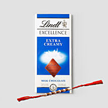 Delightful Rakhi And Lindt Combo: Rakhi to Houston