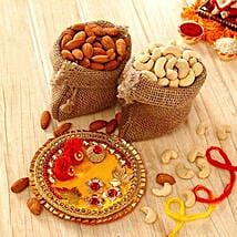 Dry Fruits Treat for Brother: Bhai Dooj Gift Delivery in USA