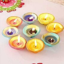 Exquisite Painted Clay Diyas: Send Diwali Gifts to San Francisco