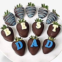 Fathers Day Chocolate Covered Strawberries: Father's Day Presents to UK