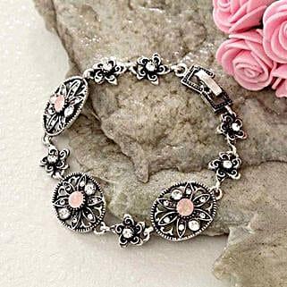 Floral Antique Bracelet: Return Gifts to USA