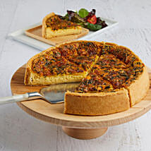 Florentine Quiche: Cakes to Columbus