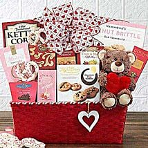 From the Heart Gift Basket: Valentine's Day Gift Delivery in Columbus