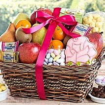 Fruit and Sweets Assortment: Send Fathers Day Gifts to USA