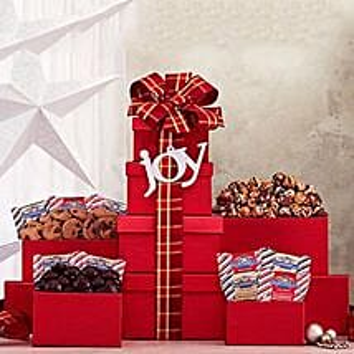 Ghirardelli Christmas Tower: Send Christmas Gifts to USA