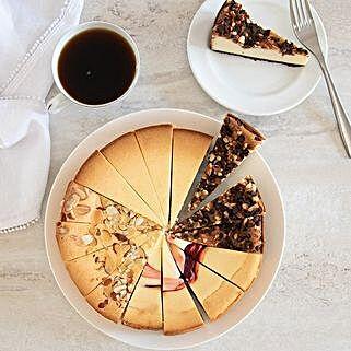 Gourmet Cheesecake Sampler: Cakes for Anniversary