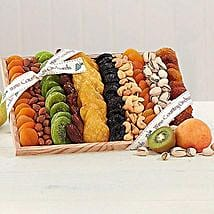 Gourmet Dried Fruit and Nut Collection: Send Christmas Gifts to USA