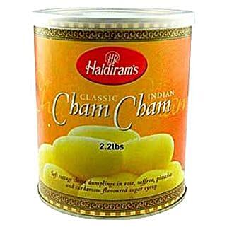 Haldirams Cham Cham: Sweets for Bhai Dooj