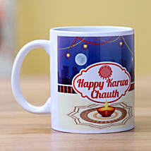 Happy Karwa Chauth Mug White: Karwa Chauth Sargi to USA