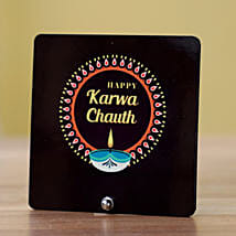 Happy Karwa Chauth Table Top: Karwa Chauth Sargi to USA