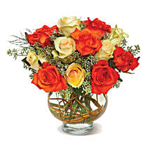 Harvest Moon Roses: Send Mothers Day Flowers to USA