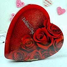 Heart Shaped Chocolate Box: Valentine Gifts to New Jersey