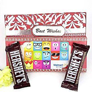 Hersheys N Walmart Gift Card Combo: Send Valentines Day to USA