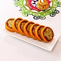 Jaybharat Dryfruit Orange Casatta Roll: Sweets to Charlotte