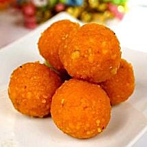 Jaybharat Motichoor Laddoo: Send Sweets to Houston