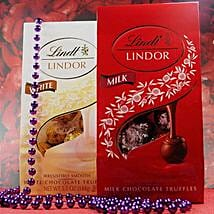 Lindt Lindor Milk N White Chocolates: Friendship Day Gifts to USA