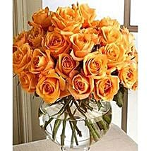 Long Stem Orange Roses: Send Flowers to Ontario