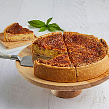 Lorraine Quiche: Send Cakes to Irving