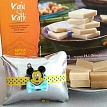 Mickey Mouse Kaju Katli Combo: Send Rakhi to USA