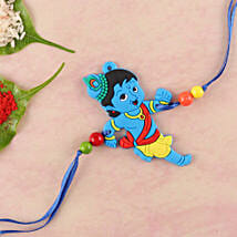 Naughty Little Krishna Kids Rakhi: Send Rakhi to Allentown
