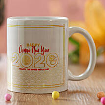 New Year 2020 Greetings Mug: Chinese New Year Gift Delivery in USA
