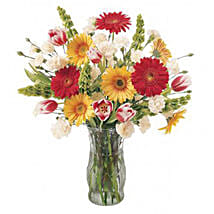 Party Time Jubilee: Send Tulip Flowers to USA