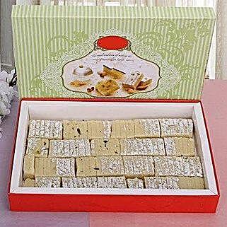 Pista Burfi 340 Grams: Send Karwa Chauth Gifts to USA