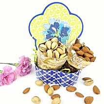 Pista N Almond Love Combo: Dried Fruit Gift Baskets to USA