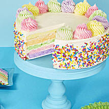 Rainbow Cake: Mothers Day Gifts to USA