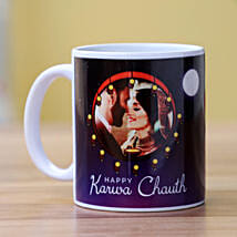 Romantic Karwa Chauth Personalised Mug: Karwa Chauth Sargi to USA