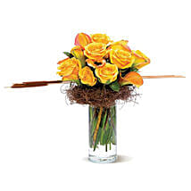 Rustic Roses: Bouquets for Birthday