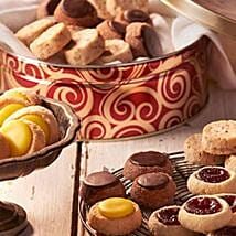 Sable French Cookie Tin: Send New Year Cakes to USA