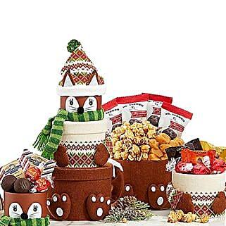 Santa Claus Gift Tower: Send Christmas Gifts to USA