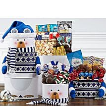 Snowman Tower: Christmas Gift Delivery in USA