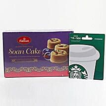 Starbucks Gift Card Sweets Combo: Send Sweets to Charlotte