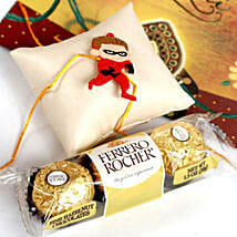 Superhero Rakhi With Rocher: Send Rakhi to Jersey City