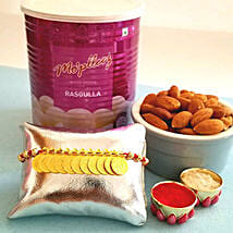 Sweet And Healthy Rakhi Combo: Send Rakhi to USA