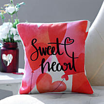 Sweet Heart Cushion: Gifts for Anniversary in USA